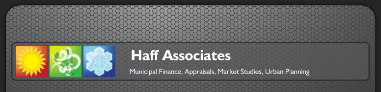 Haff Associates - Municipal Finance, Appraisals, Market Studies, Urban Planning